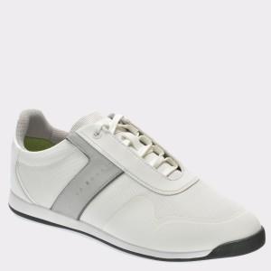 Pantofi sport HUGO BOSS albi, 5568, din material textil