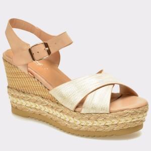 Sandale IMAGE aurii, 3221, din piele ecologica