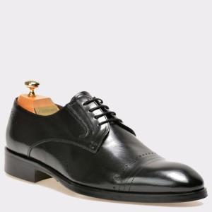 Pantofi LE COLONEL negri, 32754, din piele naturala