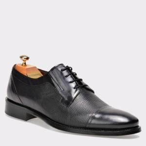 Pantofi LE COLONEL negri, 33826, din piele naturala