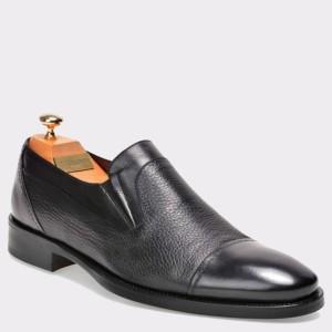 Pantofi LE COLONEL negri, 33828, din piele naturala