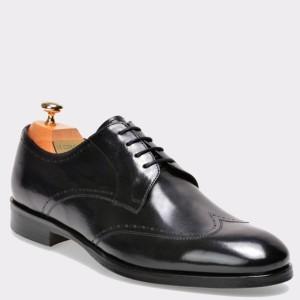 Pantofi LE COLONEL negri, 43410, din piele naturala