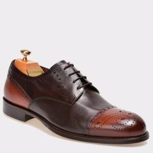 Pantofi LE COLONEL maro, 43615, din piele naturala