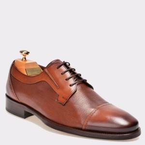 Pantofi LE COLONEL maro, 33826, din piele naturala