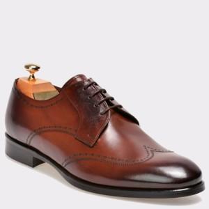 Pantofi LE COLONEL maro, 43410, din piele naturala