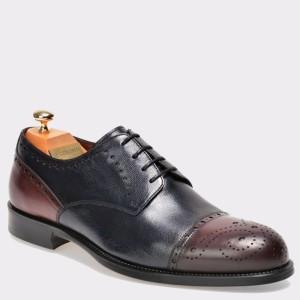 Pantofi LE COLONEL bleumarin, 43615, din piele naturala