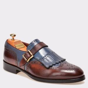 Pantofi LE COLONEL maro, 43302, din piele naturala
