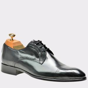 Pantofi LE COLONEL negri, 32776, din piele naturala