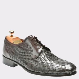 Pantofi LE COLONEL maro, 48608, din piele naturala