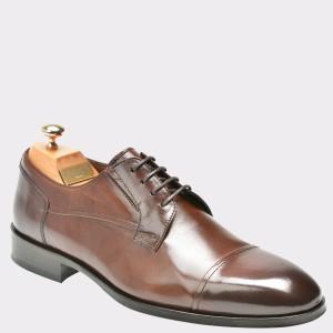 Pantofi LE COLONEL maro, 48409, din piele naturala