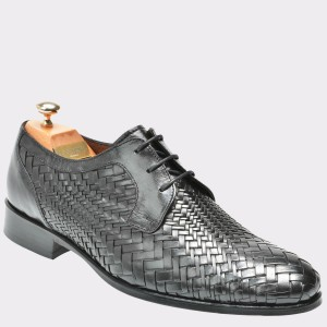 Pantofi LE COLONEL negri, 48608, din piele naturala