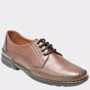 Pantofi OTTER maro, 7150, din piele naturala