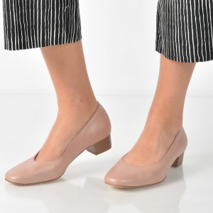 Pantofi Ara Roz, 36801, Din Piele Naturala