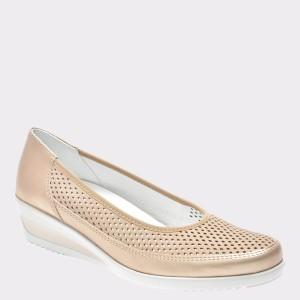 Pantofi ARA bej, 30652, din piele naturala