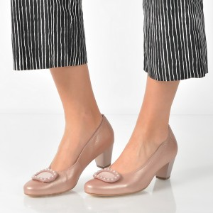 Pantofi Ara Roz, 32059, Din Piele Naturala