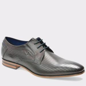 Pantofi BUGATTI maro, 25204, din piele naturala