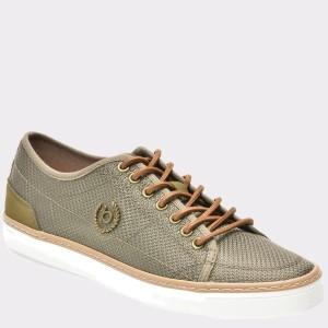 Pantofi BUGATTI kaky, 49102, din material textil