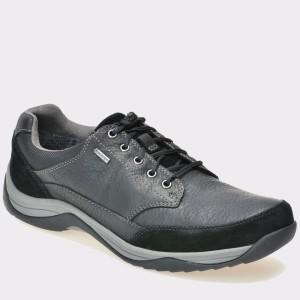 Pantofi CLARKS negri, 6119283, din piele naturala