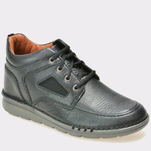 Pantofi CLARKS negri, 6127953, din piele naturala