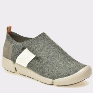Pantofi CLARKS gri, 6127233, din material textil