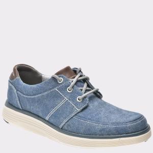 Pantofi CLARKS bleumarin, 6132598, din canvas