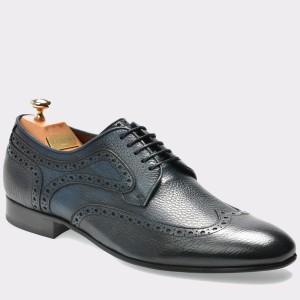 Pantofi LE COLONEL bleumarin, 48301, din piele naturala