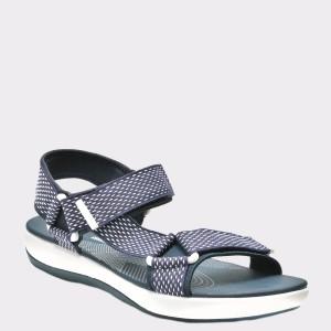 Sandale CLARKS bleumarin, 6132566, din material textil