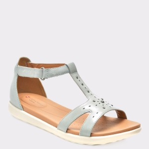 Sandale CLARKS bleu, 6133242, din piele naturala