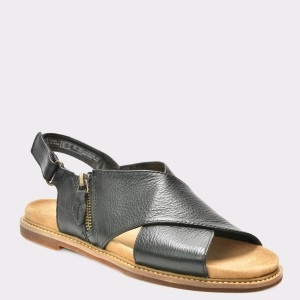 Sandale CLARKS negre, 6131913, din piele naturala