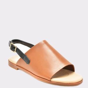 Sandale CLARKS maro, 6131939, din piele naturala