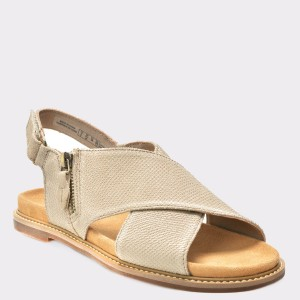 Sandale CLARKS gri, 6133926, din piele naturala