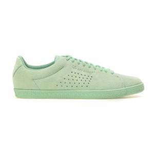 Pantofi sport LE COQ SPORTIF verzi, Charnub, din piele intoarsa