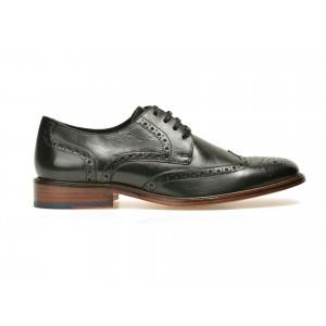 Pantofi Negri, 2817529, Din Piele Naturala