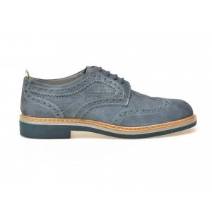 Pantofi STONEFLY albastri, din piele intoarsa