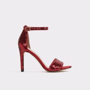 Sandale ALDO rosii, Fioll64, din material textil