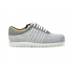 Pantofi CAMPER albi, K200456, din material textil