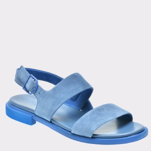 Sandale CAMPER albastre, K200573, din piele intoarsa