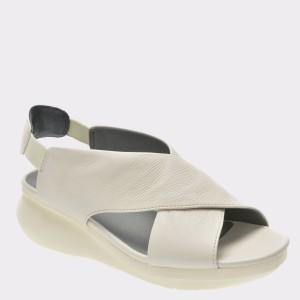 Sandale CAMPER albe, K200066, din piele naturala