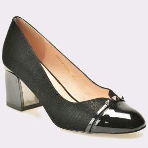 Pantofi EPICA negri, 212, din piele naturala