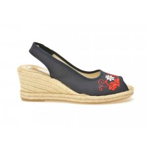 Sandale LA COMPANIA NATURAL bleumarin, 5561, din material textil