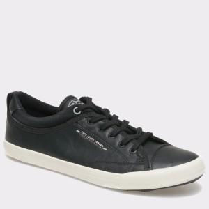 Pantofi PEPE JEANS negri, MS30295, din piele ecologica