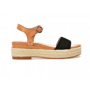 Sandale PEPE JEANS negre, Ls90235, din piele naturala