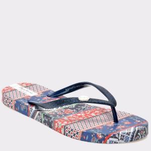 Slapi Pepe Jeans albastri, LS70026, din PVC