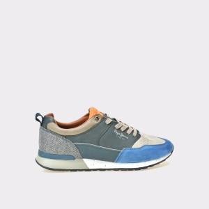 Pantofi PEPE JEANS multicolori, Ms30382, din piele naturala