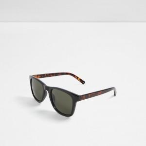 Ochelari soare ALDO negri, Madeago, din PVC
