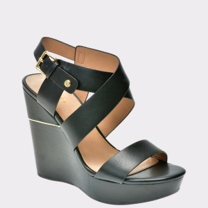 Sandale ALDO negre, Faust, din piele naturala