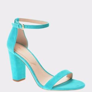 Sandale ALDO turcoaz, Myly, din piele naturala