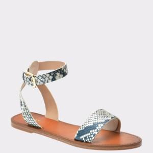 Sandale ALDO gri, Campolino, din piele naturala