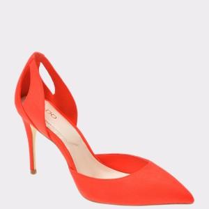 Pantofi ALDO portocalii, Dadossa, din material textil