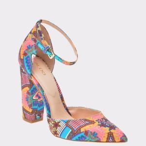 Pantofi ALDO multicolori, Nicholes, din material textil
